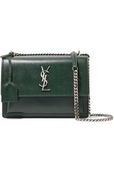 SAINT LAURENT . #saintlaurent #bags #shoulder bags #leather #