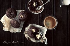 Muffinki czekoladowe z serem