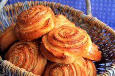 "Amapola, el mundo en un plato: Caracolas de canela o ""Kanelsvinger"""