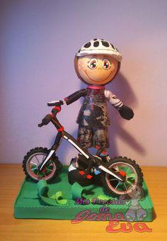 Fofucho Ciclista Subcampeón del Mundo bike trial.  Vista Principal. *Contactar conmigo en: mispecosasdegomaeva@gmail.com*       *Visita mi blog: http://mispecosasdegomaeva.blogspot.com.es*