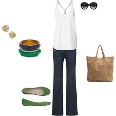 LOVE this. Casual yet put together and polished.