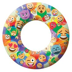 Love this Emoji pool tube by Pool Candy! So many fun geeky pool floats this year.