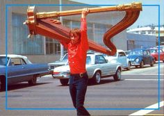 Harp mover - DANG! Don't think I would try that with a 90lb pedal harp valued over 20K.