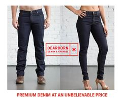 Quite possibly the most comfortable pair of jeans you will ever own.