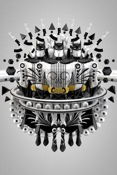 Batman 3D - 3D Typography Design Modelling
