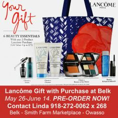 Gift with Purchase 2013 | Posts related to Lancome Gift With Purchase at Belk - March 2013