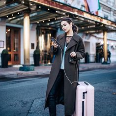 We see you, with your Pale Rose Check-In. Cabin Bag, Travel Style, Photo And Video, Studio, Rose, Check, People, Instagram, Pink