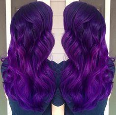 Brilliant purple hair color and long purple hair. Artist credit to come… Pretty Hair Color, Beautiful Hair Color, Hair Color Purple, Hair Dye Colors, Blue Hair, Dark Purple, Hair Addiction, Bright Hair, Coloured Hair