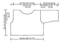 """DROPS 82-23 - DROPS Kurzer, weiter Pulli in """"Silke-Tweed"""" - Free pattern by DROPS Design"""