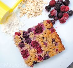 | Berry Protein Baked Oatmeal | http://www.macro-chef.com