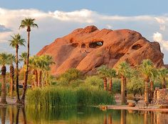 Papago Park & Botanical Gardens; Phoenix, AZ