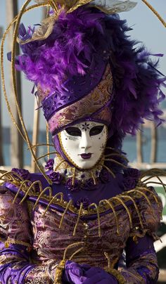 Carnival of Venice, Italy kl Venetian Costumes, Venice Carnival Costumes, Venetian Carnival Masks, Carnival Of Venice, Masquerade Costumes, Venetian Masquerade, Masquerade Ball, Venice Carnivale, Venice Mask