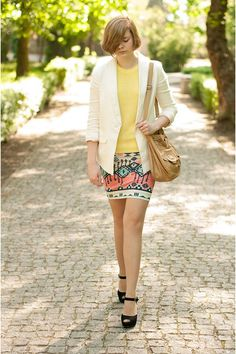 cute aztec skirt