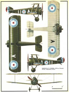 Sopwith Camel as flown by Biggles, Algy, Ginger and the rest of 266 Squadron.