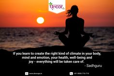 #MondayMotivation #WellbeingQuote #SadhGuru #AlcorSpa #Health #Wellness