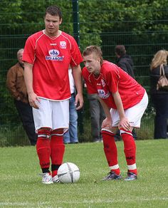 Mirko Weikert and Marco Reus (right) showed great potential in Rot Weiss Ahlen.