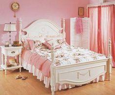 ベッドルーム(ピンク&白)【姫ルーム】