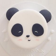 Panda cake idea                                                       …