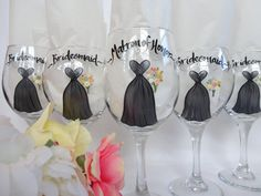 THE ORIGINAL Hand Painted Personalized Bridal by SAM Designs @ www.samdesigns.net, $22.00