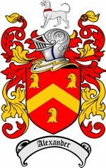 Alexander Coat of Arms / Scottish