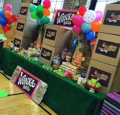 Willy Wonka & The CandyLand Factory  Birthday Party Ideas   Photo 9 of 16