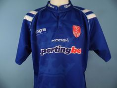 Authentic Hull KR Alternative/Away 2011 Rugby Shirt Size XXL Super League
