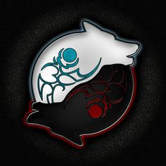 Yin & Yang.....the Good Wolf & the Bad Wolf...which lives in all of us
