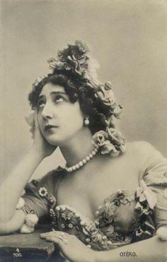 La belle Otéro, dancer