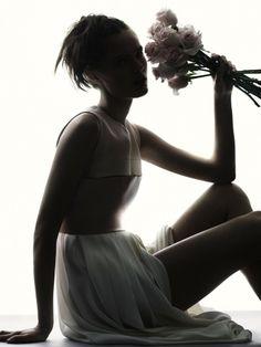 UK Harper's Bazaar March 2013 Title : All In Bloom Photography : David Slijper Model : Katie Fogarty