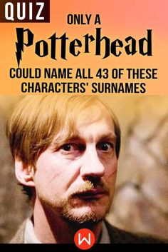 See just how well you know the characters from our favorite Wizarding World, from the many Weasleys to Potter himself.