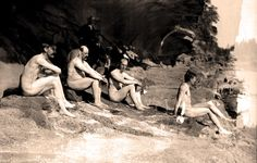True or False? This photograph taken on Gabriola Island in 1912 shows members of B.C.'s first naturist club, who practiced heliotherapy (treating certain diseases with sunlight) and promoted nudism as a path to general good health.