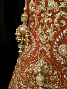 Exquisite & intricate - handmade embroidery work in India