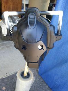 Doctor Who, DIY Cyberman Helmet/Mask, Foam
