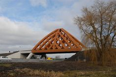 Wood Bridge In Netherlands | Interior Design inspirations and articles