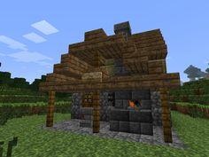 minecraft blacksmith buildings homemade building own