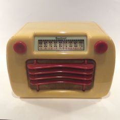Deco Bakelite Sentinel Tube Radio Beautiful | eBay