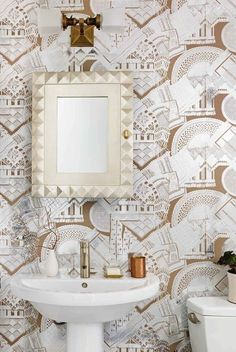 8 Ways to Decorate With Vintage Wallpaper