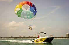 Parasail #water #sport #lignano #italy - for more info lignanosabbiadoro.it