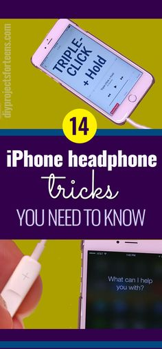 Cool iphone headphone tricks - Tips for using IPHONE headphones for IOS devices like phone and ipad. Control headphones and find little tricks you did not know existed Iphone Hacks, Iphone 7, Iphone Codes, Tips And Tricks, Makeup Tricks, Ios, Iphone Headphones, Iphone Accessories, Iphone Photography