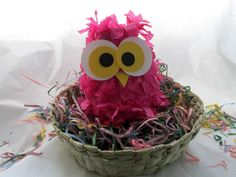Five Mini Owl Pinatas Perfect Party Favors by NatureCurios on Etsy, $35.00