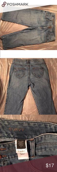 Eddie Bauer Denim Capri size 10 Eddie Bauer Denim Capri size 10 Eddie Bauer Jeans