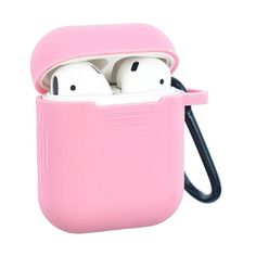 Non-slip Soft Silicone Case for Apple AirPods Pink AirPods 1 2 Cases Guuds he… headphone apple – Headphone Computer Headphones, Cute Headphones, Wireless Earbuds, Fone Apple, Apple Earphones, Princess Toys, Earphone Case, Air Pods, Airpod Case