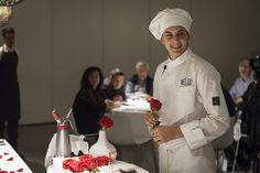 """Mikel Olaizola, con su plato """"La rosa del rosado"""", ha sido el ganador de la segunda edición del #RetoAzpilicueta"""