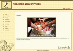 See the most Beautiful Designs and Templates for your Indian Wedding Website. Easy-to-use, FREE and your Guests will love this. Website Themes, Wedding Website, Celebrity Weddings, Free Design, Marriage, Indian, Templates, Valentines Day Weddings, Stencils