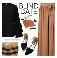"""""""NEWCHIC blind date"""" by mada-malureanu ❤ liked on Polyvore featuring newchic and blinddate"""