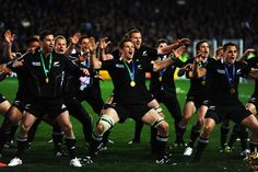 The All Blacks win the World Cup