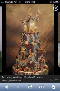 Hunting cake!!