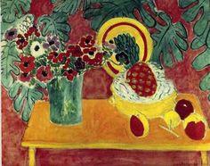 Henri MatisseHenri Matisse, Pineapple and Anemones, 1940