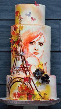 Мастер-Классы Тортов Cake_decorating_tutorials - Мастер-классы по украшению тортов Cake Decorating Tutorials (How To's) Tortas Paso a Paso