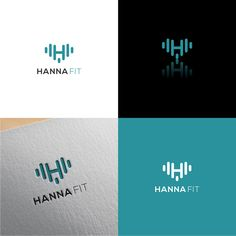 Hanna Fit - Logo for Fitness / Personal Trainer by Nurse18